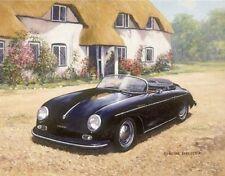 Classic Car Porsche Cars 356 Speedster Birthday Card