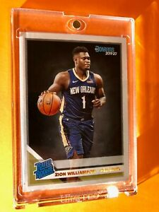 Zion-Williamson-DONRUSS-PANINI-RATED-ROOKIE-2019-20-HOT-RC-201-Mint-Condition