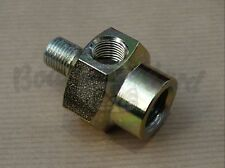 Oil pressure / temperature sender adapter for VW 1, 2, 3 and 4 aircooled engine