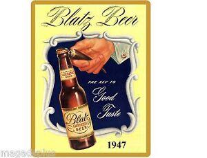 Blatz Beer Bottle  Refrigerator Tool Box   Magnet