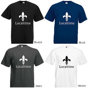 LOCALTIME-Watches-Commemorative-Cotton-Short-Sleeve-T-Shirt-4-Colours-amp-8-Sizes