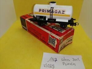 Jouef-Lima-etc-HO-1-87eme-wagon-citerne-Primagaz-ref-M639-1967