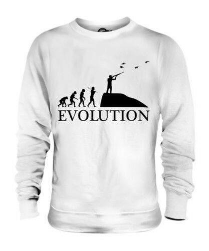 Juego Caza Evolution Of Man Unisex Suéter Regalo Hombre Mujer Hunter