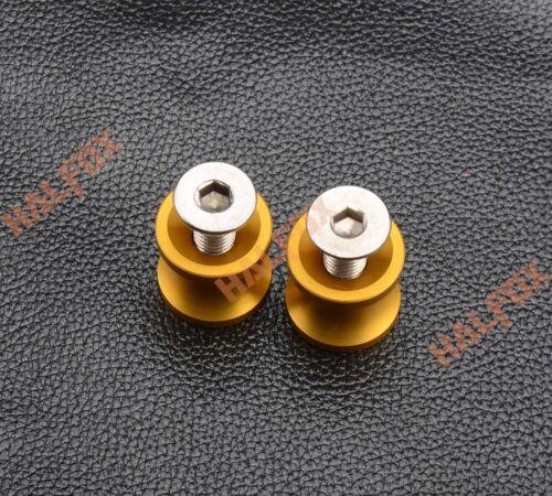 8MM Swingarm Spools Sliders Screws For Suzuki SV650//1000 DL1000R//S Universal