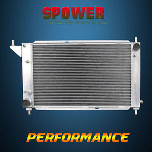 Aluminum 3 Row Core Performance Cooling Radiator for 1996 Ford Mustang Manual MT