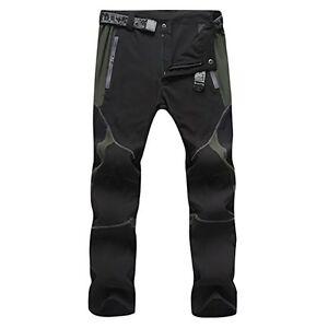 Transpirable Ligero Pantalones Tipo Cargo De Montana Senderismo Seco Pantalones Para Hombres Y Mujeres Medio Ebay