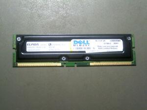 EBR25EC8ABFD-8C-Elpida-Japan-1-x-256Mb-8d-ECC-184Pin-PC800-40-RDRAM-G100-S100