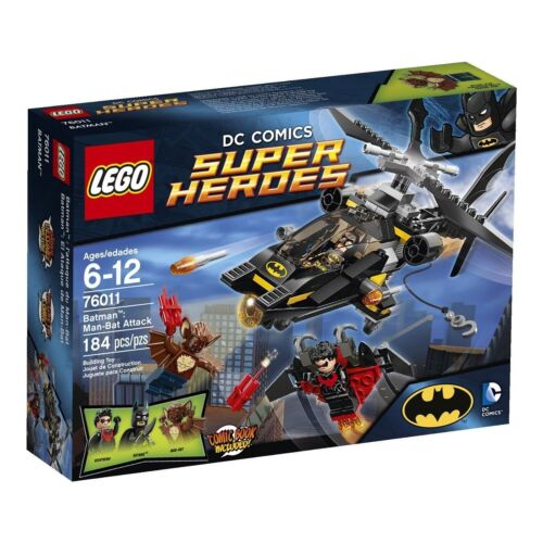 76011 BATMAN MAN-BAT ATTACK lego legos set NEW DC super heroes NIGHTWING