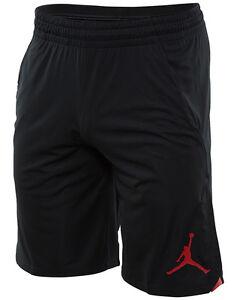 bc1abcbf468 Jordan 23 Alpha Knit Mens 849143-010 Black Red Dri-Fit Basketball ...