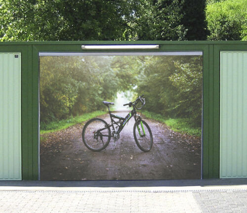 3D Bicycle Park 8 Garage Door Murals Wall Print Decal Wall AJ WALLPAPER UK Carly