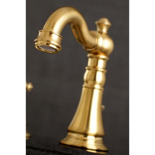 Fauceture FSC1973AL 8-Inch Widespread Lavatory Faucet Satin Brass
