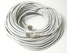 75FT 75 FT RJ45 CAT5 CAT 5E CAT5E Ethernet LAN Network Cable White Brand New