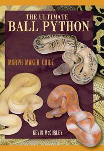 Details about Ultimate Ball Python Morph Maker Guide 762 Pages by Kevin  McCurley Color Photos