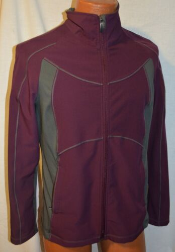 Ladies Zipper Front Columbia Titanium Size Jacket Large Fabulous Coat Full 645w8q4