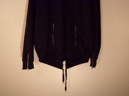 NWT MEN/'S 4XL LR SCOOP PREMIUM BLACK LONG SLEEVE P//O HOODIE HOODED SWEAT #1033