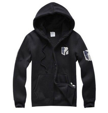 Attack on Titan Shingeki no Kyojin Scouting Legion Cosplay Hoodie Coat Jacket