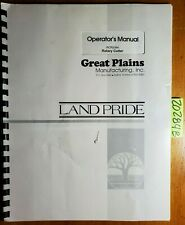 Land Pride Great Plains Rcr2584 Rotary Cutter Owner Operator Manual 312 459m 95