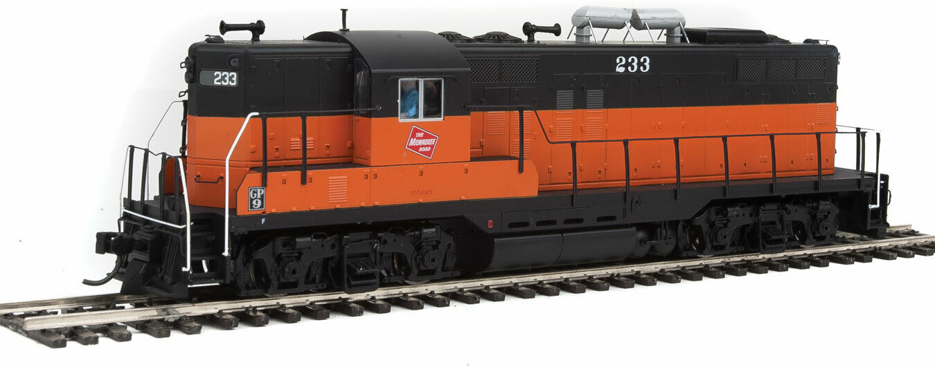 Walthers Prossoo HO Scale EMD GP9 Fase I (DC) Milwaukee Road estándar