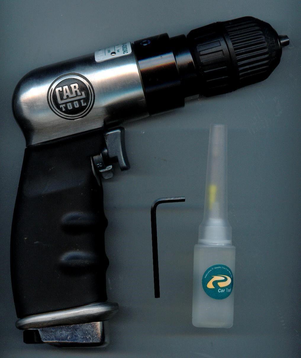Car Tool (EARS-4302AC) 3 8  Reversible Keyless Air Drill 1800 RPM, Vacula