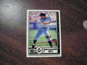 GEORGE-BRETT-KANSAS-CITY-ROYALS-1999-UPPER-DECK-RETRO-BASEBALL-CARD-90