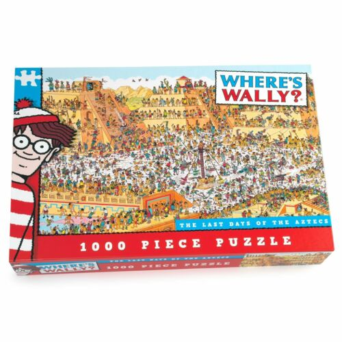 Where's Wally The Last Day of The Aztecs 1000 Piece Jigsaw Puzzle