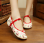 Chinese-Embroidered-Floral-Shoes-Women-Ballerina-Flat-Ballet-Cotton-Loafer-snug thumbnail 18