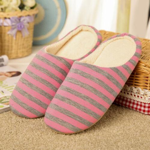 Women Men Home Anti slip Shoes Soft Winter Warm Sandal House IndoorSlippers*`