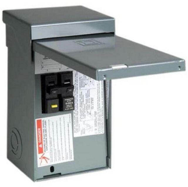 Amp Electrical Panel on