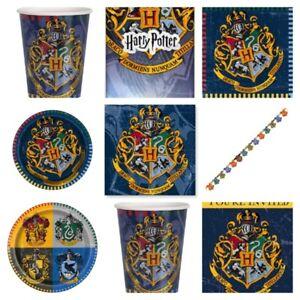 différemment vraiment à l'aise chaussures de séparation Détails sur Harry Potter Party Supplies anniversaire vaisselle accessoires  Plaques Sac Fourre-tout Cups- afficher le titre d'origine
