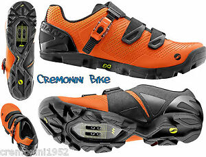 Giant Scarpe Flow Mountain Bike MTB Shoes Orange Arancioni EU 44 USA 11 UK 10