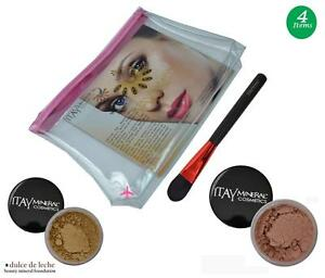 ITAY-Mineral-Flawless-Foundation-MF5-Dulce-de-Leche-Bronzer-Brush-Cosmetic-Bag