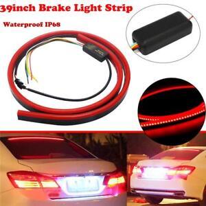Universal-Red-Tail-Brake-Stop-Light-Roofline-Light-High-Brake-Rear-Kit-Strip