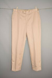 JOS-A-BANK-NEW-110-Traveler-039-s-Collection-Tailored-Fit-Khaki-Pant-Mens-36-X-32