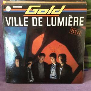 vinyle MAXI 45 T GOLD : VILLE DE LUMIERE 1986 - France - État : Occasion: Objet ayant été utilisé. Consulter la description du vendeur pour avoir plus de détails sur les éventuelles imperfections. ... Format: EP, Maxi - France