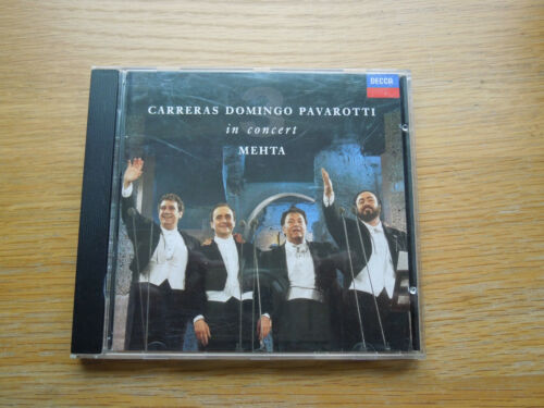 1 of 1 - CARRERAS DOMINGO PAVAROTTI IN CONCERTTHE 3 / THREE TENORS with booklet