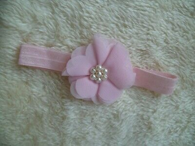 5-6lbs//2.3-2.7kg pink flowers special headband Baby clothes GIRL premature//tiny