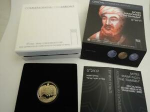 2009-Jewish-Sages-Moses-Maimonides-the-034-Rambam-034-17g-14k-Gold-Rare-100-Minted