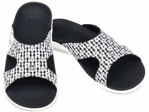 Spenco-Total-Support-Kholo-Sandal-Black-GIngham-Size-9-Womens-New-with-Tag