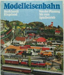 Modelleisenbahn-Planung-bis-Spielbetrieb-HC-1981-Burkhard-Kiegeland-Ratgeber