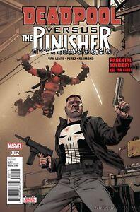 Details about DEADPOOL vs  PUNISHER no  2 NM- Marvel Comics NETFLIX 2017  Daredevil
