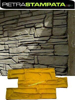 STAMPO per intonaco stampato FINTO LEGNO parquet Vertical Concrete Stamp