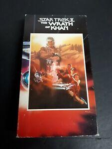 Star-Trek-The-Wrath-Of-Khan-1982-VHS-Sci-Fiction