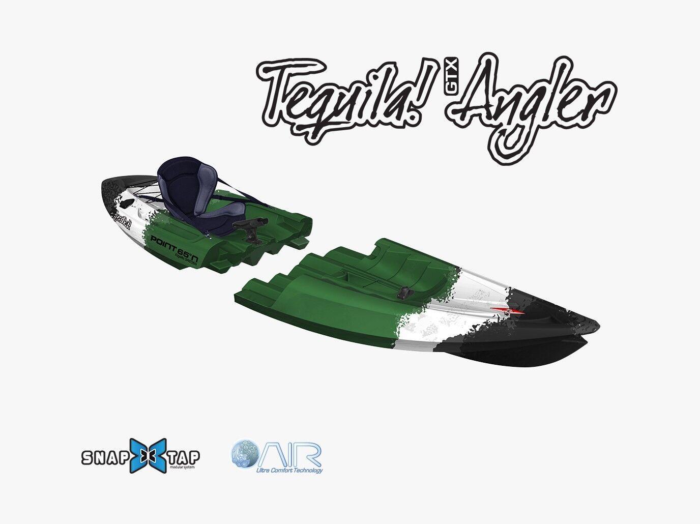 Point65 Tequila Kajak teilbar in 2 Module einfacher einfacher einfacher Transport Angelkajak in Camo 8f0af4