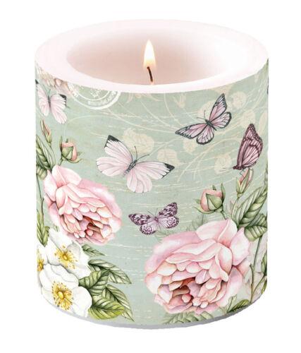 Kerze Lampionkerze BOTANICAL 9cm by AmbienteBlumen Schmetterling