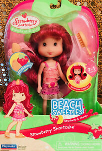 Details About Reduced Strawberry Shortcake Beach Sweeties Nib Rare Never Opened
