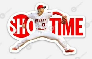 Shohei Ohtani Los Angeles Angels STICKER - Sho Time MLB Showtime LA California