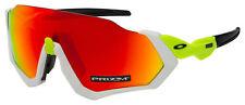 Oakley Flight Jacket Sunglasses OO9401-1237 White | Prizm Ruby Lens