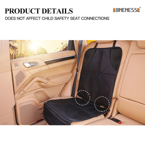 UK Car Baby seat Protector Anti-Slip Mat Child Safety Waterproof Cushion Cover