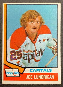 1974-75-O-Pee-Chee-Hockey-277-Joe-Lundrigan-RC-Washington-Capitals