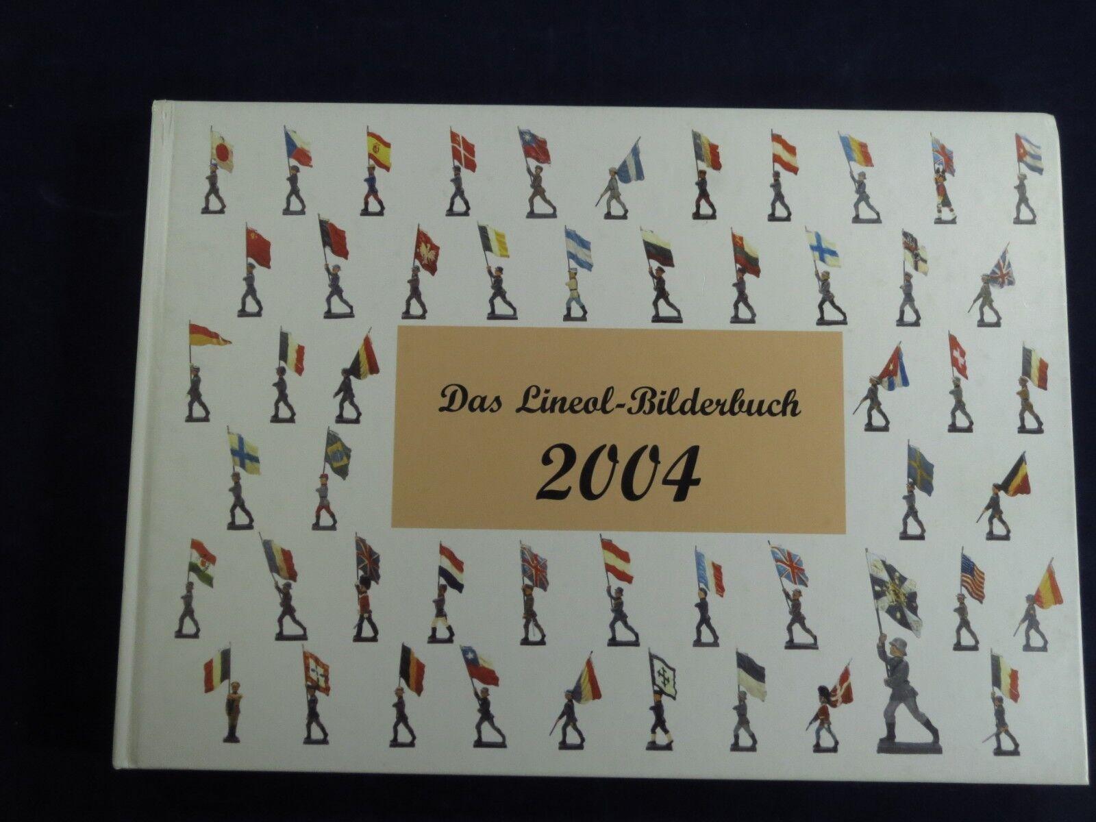 Das Lineol-Bilderbuch 2004, Book on Lineol flagbearers, artillery men, equipment